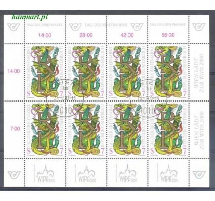 Znaczek Austria 1998 Mi ark 2260 Stemplowane