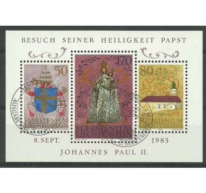 Liechtenstein 1985 Mi bl 12 Stemplowane