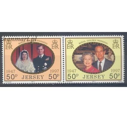 Znaczek Jersey 1997 Mi 809-810 Czyste **