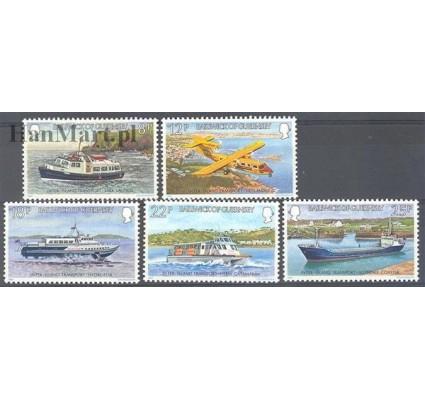 Znaczek Guernsey 1981 Mi 232-236 Czyste **
