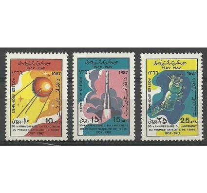 Afganistan 1987 Mi 1555-1557 Czyste **