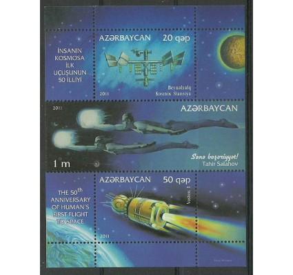 Azerbejdżan 2011 Mi bl 100 Czyste **
