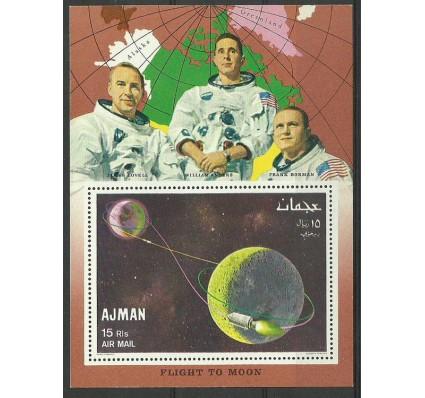 Ajman / Adżman 1968 Mi bl 68 Czyste **