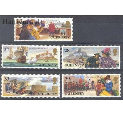 Znaczek Guernsey 1993 Mi 612-616 Czyste **