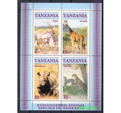 Tanzania 1986 Mi bl 58 Czyste **