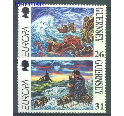 Znaczek Guernsey 1997 Mi 734-735 Czyste **