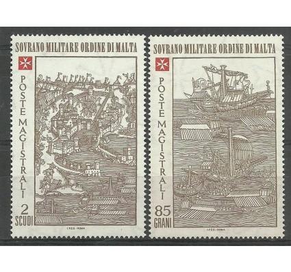 Znaczek Zakon Maltański 1980 Mi 182-183 Czyste **