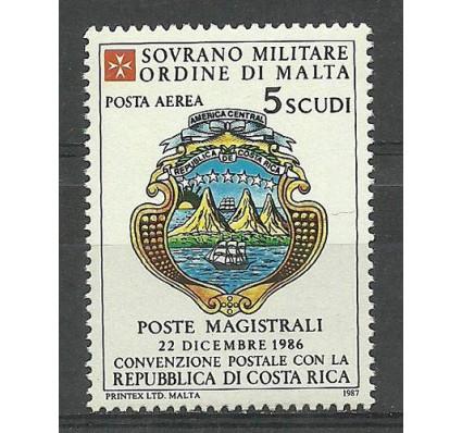 Znaczek Zakon Maltański 1987 Mi A29 Czyste **