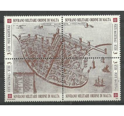 Znaczek Zakon Maltański 1991 Mi 372-375 Czyste **