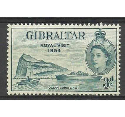 Znaczek Gibraltar 1954 Mi 148 Czyste **