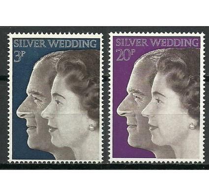 Znaczek Wielka Brytania 1972 Mi 609-610 Czyste **