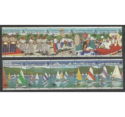 Znaczek Wyspy Dziewicze 1984 Mi 480-489 Czyste **