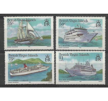 Znaczek Wyspy Dziewicze 1986 Mi 537-540 Czyste **