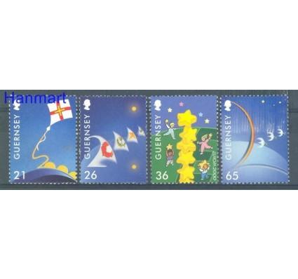 Znaczek Guernsey 2000 Mi 851-854 Czyste **