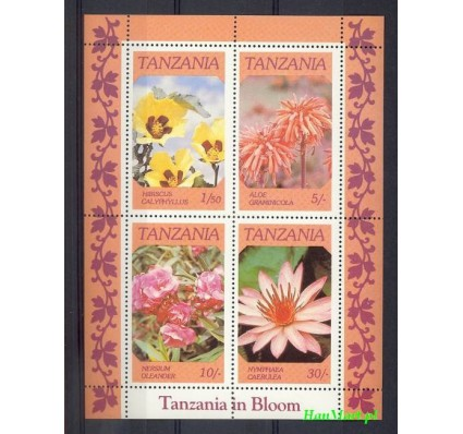 Tanzania 1986 Mi bl 57 Czyste **
