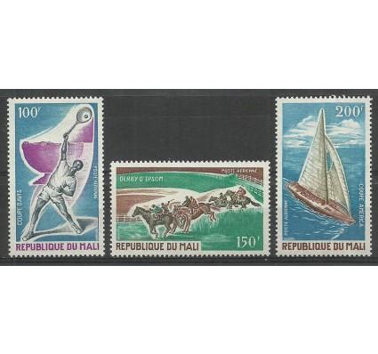 Znaczek Mali 1971 Mi 269-271 Czyste **