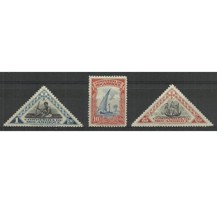 Znaczek Mozambik 1937 Mi 203+213+214ge Czyste **