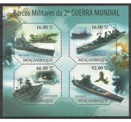 Znaczek Mozambik 2011 Mi ark 4652-4655 Czyste **