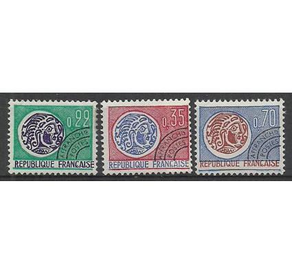 Znaczek Francja 1969 Mi 1656-1658 Czyste **