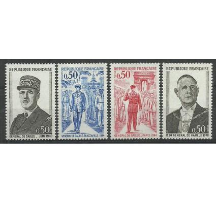Znaczek Francja 1971 Mi 1772-1775 Czyste **