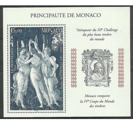 Znaczek Monako 1997 Mi bl 74 Czyste **