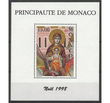 Znaczek Monako 1998 Mi bl 75 Czyste **