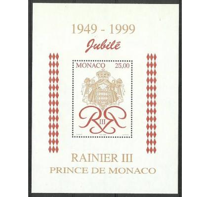 Znaczek Monako 1998 Mi bl 76 Czyste **