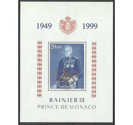 Znaczek Monako 1999 Mi bl 77 Czyste **