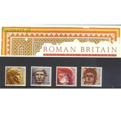 Znaczek Wielka Brytania 1993 Mi 1455-1458 Czyste **