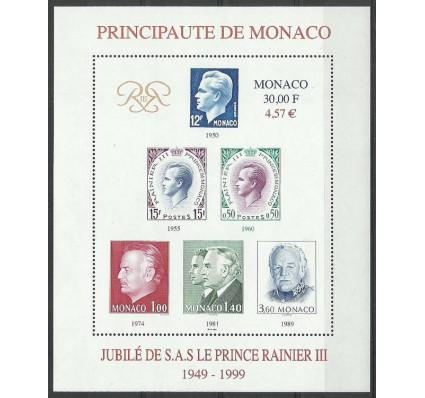 Znaczek Monako 1999 Mi bl78 Czyste **