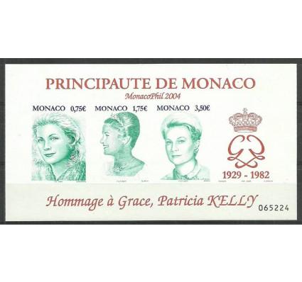 Znaczek Monako 2004 Mi bl 87 Czyste **