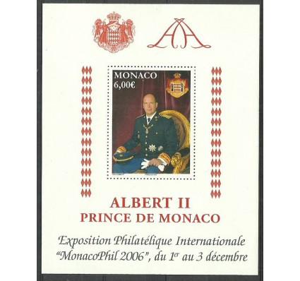 Znaczek Monako 2006 Mi bl 94 Czyste **