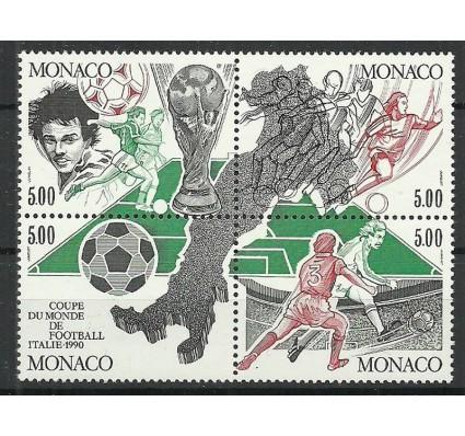 Znaczek Monako 1990 Mi 1963-1966 Czyste **