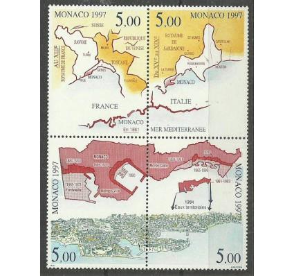Znaczek Monako 1997 Mi 2380-2383 Czyste **