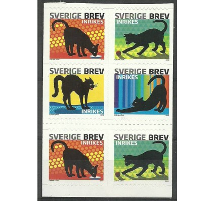 Znaczek Szwecja 2010 Mi 2735-2738 Czyste **