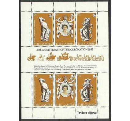 Znaczek Gambia 1978 Mi ark 371-373 Czyste **