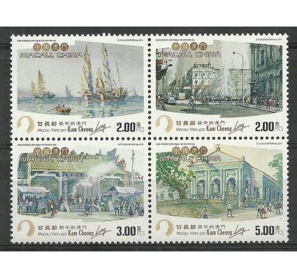 Znaczek Makau 2014 Mi 1938-1941 Czyste **