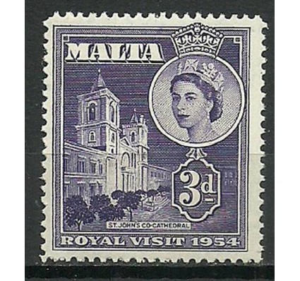 Znaczek Malta 1954 Mi 233 Czyste **