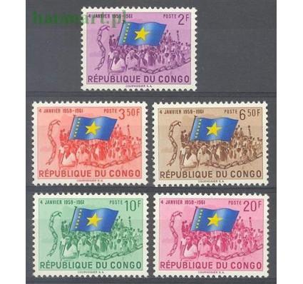 Znaczek Kongo Kinszasa / Zair 1961 Mi 44-48 Czyste **