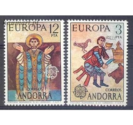Andora Hiszpańska 1975 Mi 96-97 Czyste **