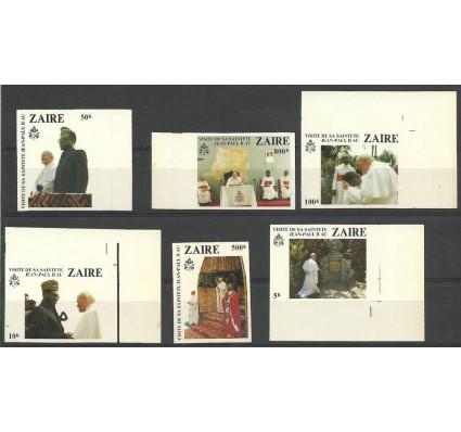 Znaczek Kongo Kinszasa / Zair 1981 Mi pro 716-721 Czyste **
