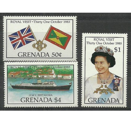 Znaczek Grenada 1985 Mi 1413-1415 Czyste **