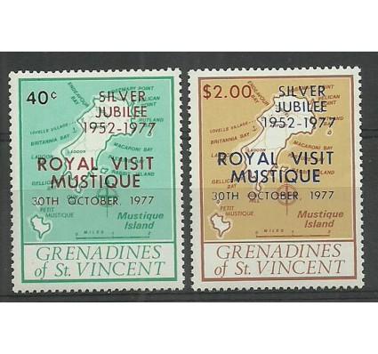 Znaczek Grenadines of St Vincent 1977 Mi 126-127 Czyste **