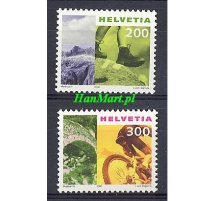 Znaczek Szwajcaria 2000 Mi 1744-1745 Czyste **
