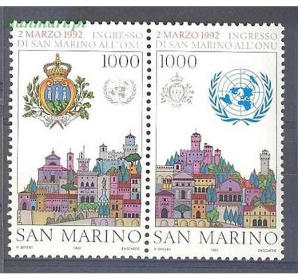 Znaczek San Marino 1992 Mi 1514-1515 Czyste **
