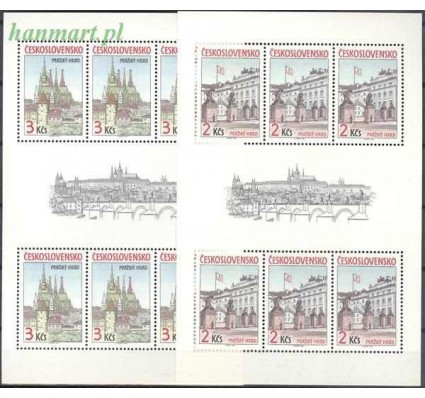 Znaczek Czechosłowacja 1985 Mi ark 2834-2835 Czyste **