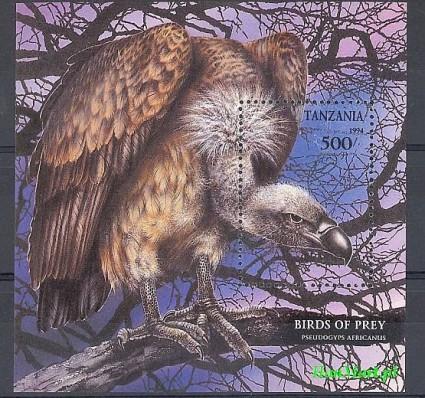 Tanzania 1994 Mi bl 260 Czyste **