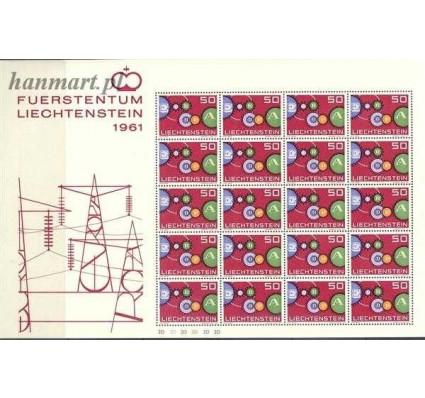 Znaczek Liechtenstein 1961 Mi ark 414 Czyste **