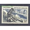 Francja 1956 Mi 1108 Z podlepką *