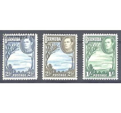Znaczek Bermudy 1938 Mi 110 Czyste **